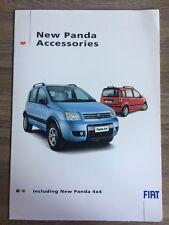 """FIAT PANDA accessori auto gamma brochure. tra cui """"NUOVO"""" PANDA 4X4. leghe ecc."""
