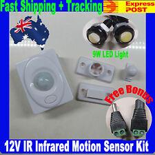 12V Infrared Motion Sensor Auto 3528 5050 5630 Switch Kit - $1 express upgrade
