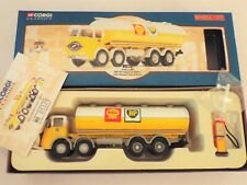 11501 Corgi: ERF KV Elliptical Tanker with Petrol Pump Shell BP Livery, New Open