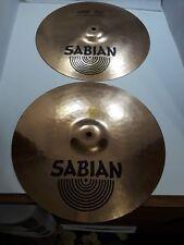 """Sabian B8 Pro Medium 14"""" Hi-Hat Cymbal Pair, Great shape!"""