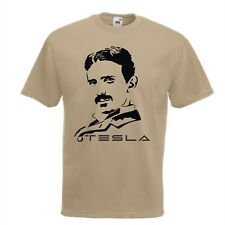Nikola Tesla T-Shirt Genius Science S-XXL