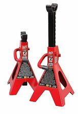 2 Pieces Set Car High Lift Jack Stands 2 Ton Auto Vehicle Support Garage Tools
