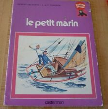 Rare Soft Cover French Book Le Petit Marin