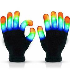 1 Pair Led Gloves Light Up Kids Toys Boys Girls For Age 5 10 Funny Trick Gift