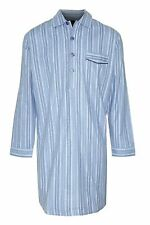 Mens Quality Nightshirt Night Shirt Brushed Cotton