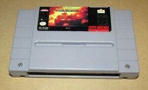 Super Battletank: War in the Gulf for Super Nintendo SNES Fast Shipping