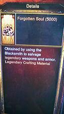 Diablo 3 vergessene Seelen 50.000 Kanai 'Cube Main Craft Item Xbox One Softcore