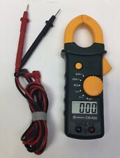 Greenlee CM-600 CAT. III 600V Clamp ON AC DC Multi- Meter w/ Leads
