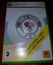 TABLE TENNIS Xbox 360 GAME IN GOOD CONDITION (FULL VERSION PROMO DISK)