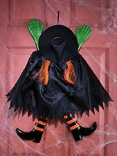 Wrong Way Crashing Witch Outdoor Decoration, New