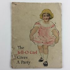 Vintage The Jell-o Girl Gives A Party ~ Jello Color Booklet Recipes