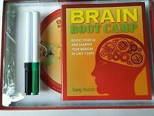 Brain Boot Camp  Sharpen Your Memory in 7 Days by Tony Buzan Book & Accessories