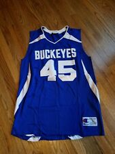 Ohio State Buckeyes Basketball Jersey Aau Blue by Champion Vtg Nm Rare