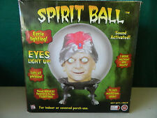 spirit ball 14 inch SWAMI GYPSY dr shivers animated halloween prop