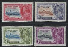 Solomon Islands 1935 Silver Jubilee set Sc# 60-63 mint
