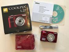 NIKON Coolpix L27 Kamera - 16.1 Megapixels - 5x Zoom
