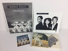 Animal Logic Press Kit Sticker Photo Cassette Box The Police Stewart Copeland