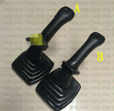 1pair Joystick handle rubber boot For Hyundai Daewoo 220-5 215-7 Excavator #VF51
