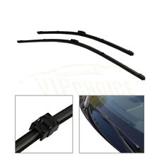 "Front Window 2Pcs 24""+19"" Windshield Wiper Blades For BMW E90 E91 3-SERIES 06-09"