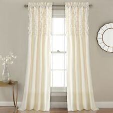 Bayview Window Curtain Ivory Set 54x84+2