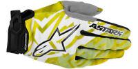 Alpinestars Racer Gloves Yellow/Black Motocross Mx Quad Atv Off Road