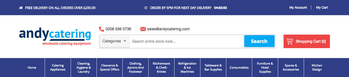Andy Catering Equipment