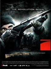 2009 BENELLI VINCI 12 gauge Shotgun AD Collectible Firearms ADVERTISING