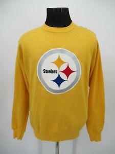 P5600 VTG NFL Team Pittsburgh Steelers Pullover Sweatshirt Size M
