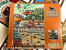 2 NEW & 2 USED PUZZLES - HOMETOWN Favorites!  (Lot of4)