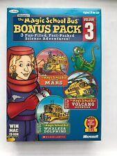 Magic School Bus Bonus Pack Volume 3: Dolphins / Mars / Volcano for PC Mac