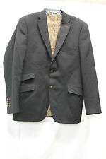 Biella Collection Mens Blazer Suit Jacket Wool Size 42R Excellent Used Cond 2464