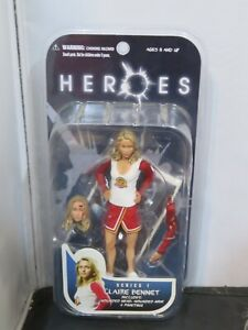 """HEROES"" NBC TV SHOW *CLAIRE BENNET* Action Figure Series 1 [2007]"