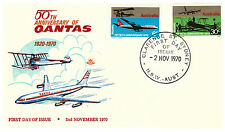 First Day of Issue Aviation Used Australian Stamps