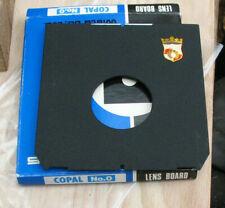 genuine Wista & Linhof fit Lens board  for compur copal 0 34.9mm offset low hole