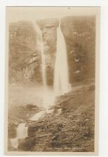 Twin Falls Yoho Valley Canada RP Postcard 211a
