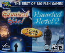 Big Fish Games 2 Games Haunted Hotel and Haunted Hotel 2 PC-CD-ROM