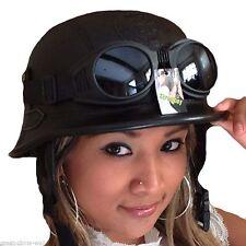 Chopper Helm incl. Brille -XL Helm incl. Brille Biker Helm Roller Helm  Bulzeye