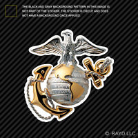 USMC EGA Sticker Die Cut Self Adhesive Vinyl eagle globe anchor marines marine