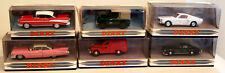 DTE DINKY MATCHBOX COLLECTIBLES DY-2 CHEVY BEL AIR, 7 CADILLAC, 9, 12, 15, & 16
