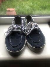 Ralph Lauren Polo canvas boat shoes