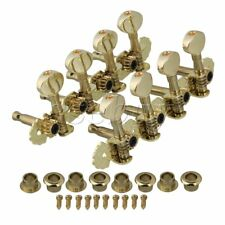GOLD MANDOLIN Machine Heads Tuning Pegs Metal button Set