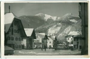 Foto-AK GRASSAU Kr. TRAUNSTEIN /CHIEMGAU im Winter, Schnee um 1930