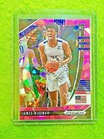 JAMES WISEMAN PINK PRIZM ROOKIE CARD CRACKED ICE WARRIORS RC - 2020 Panini Prizm