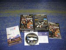 Wilco Legacy Nr. 1 der Luxusjets Flugsimulator X in OVP deutsch mit Anleitung