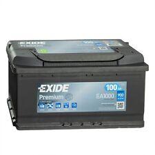 Exide Premium CARBON BOOST EA1000 Autobatterie 12V 100Ah Starterbatterie