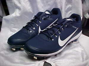 Nike Air Clipper '17 Baseball Metal Cleats Navy/White 880261-414 Size 12.5