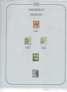 Argentina EXHIBITION album page - 1858 Confederation