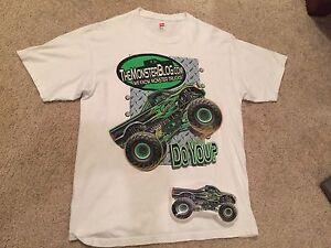 NEW Monster Truck T Shirt - TheMonsterBlog.com - Custom Packaging!