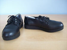 Chaussures Femmes Rocket Dog Emma Oxford Lacets Bas Plateforme Chaussure Noir Taille 3 NEUF