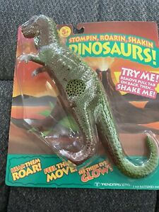 Trendmaster Vintage New Dinosaurs Stompin Roarin T-Rex  1992